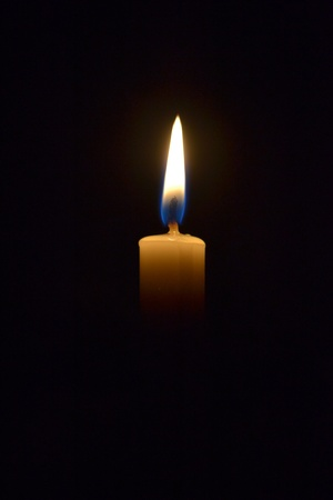 flickering: Candle light Light has little meaning