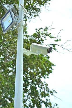 Cctv camera,Equipment for the safety of life and property  photo