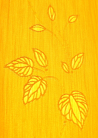 The pattern on the fabric, photo