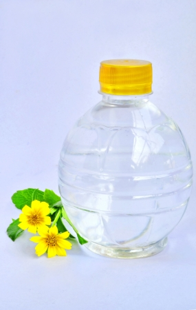 A bottle of drinking water  photo