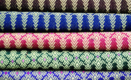 pattern on the fabric photo