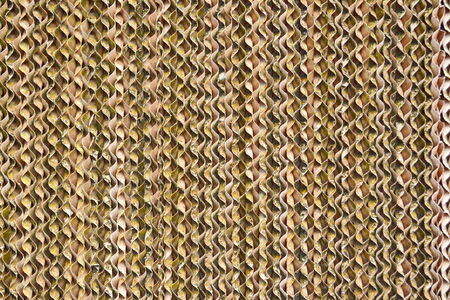 celulosa: celulosa marr�n son material del sistema de evaporaci�n Foto de archivo