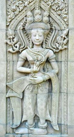 apsara: Apsara sculptures