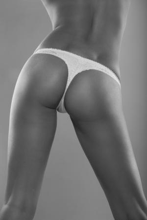 filles sexy en sous-vêtements en bout Banque d'images