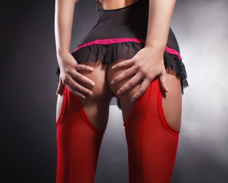 sexy butt girls in underwear Imagens - 23320267