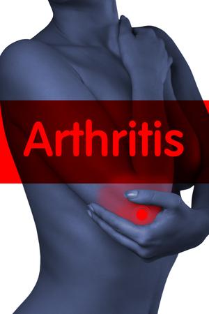 codo: Un hombre con su codo. Dolor en el codo joint.Pain.Arthritis.