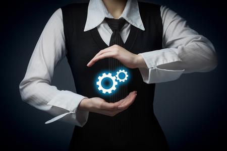 mision: Proteja mecanismo concepto de negocio