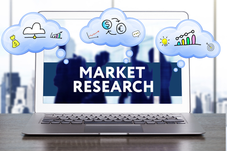 technology market: Marketing Strategy. Planning Strategy Concept. Business, technology, internet and networking concept. Market research
