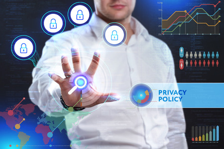 classified: Concept of business security, safety of information from virus, crime and attack. Internet secure system. Protection system. Privacy policy
