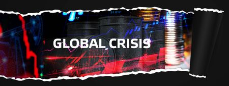 Global  Financial crisis and bankruptcy. Financial instability. Unprofitability