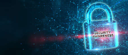 Cyber security data protection business technology privacy concept. Security Awareness