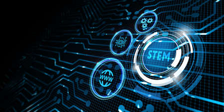 Science, technology, engineering and math. STEM concept. Business, Technology, Internet and network concept. Stockfoto