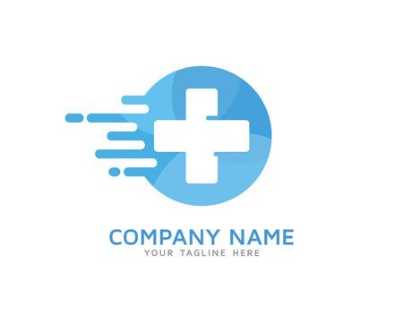 Fast Medical, Quick Medic Logo Illusztráció
