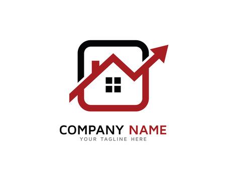 Property, House, Real Estate Investment Logo Illustration