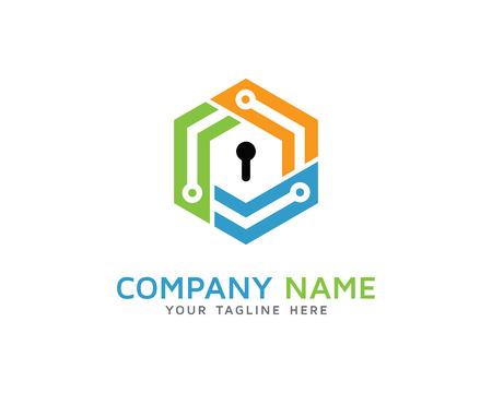 security logo: Cube Tech Security Logo