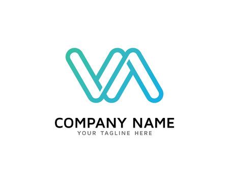 Letter VA Logo