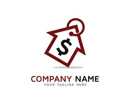 House Market, Home Buying Logo Ilustração