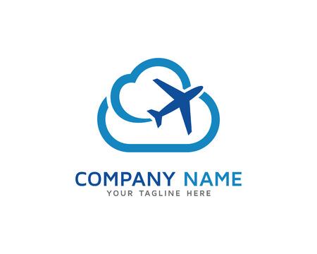 Cloud Plane Tour En Travel Logo