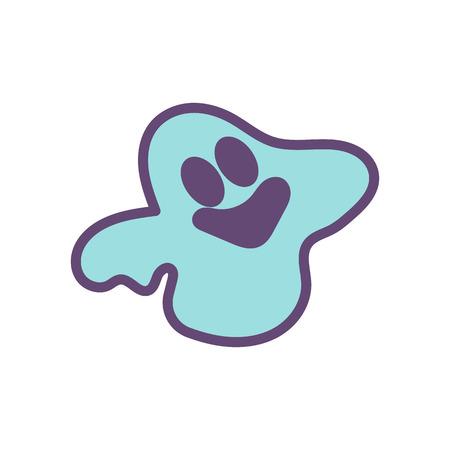 Halloween Ghost Icon Logo Design Element