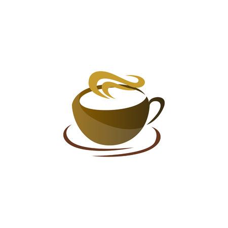 Premium Coffee Icon Logo Design Element