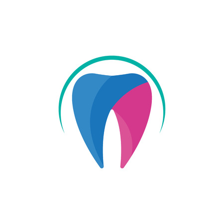 Dental Tooth Guard Icon Logo Design Element