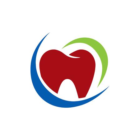 pasta de dientes: Icono de protección dental del logotipo del elemento del diseño Vectores