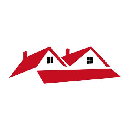 rent: Real Estate Rent Icon Logo Design Element