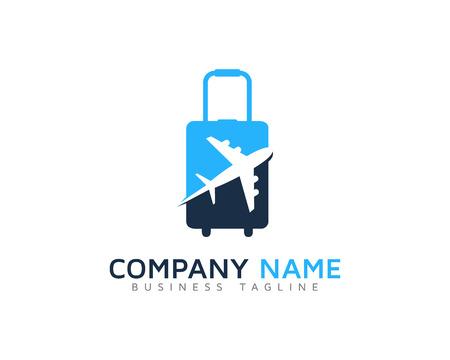 Travel Bag Logo Design Template Stok Fotoğraf - 70577696