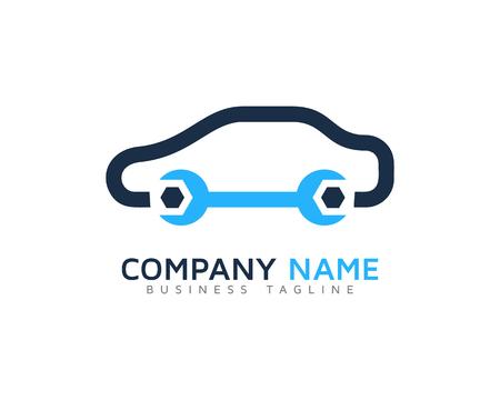 Auto Car Service Logo Design Template