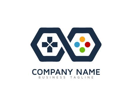 Infinite Game Logo Design Template