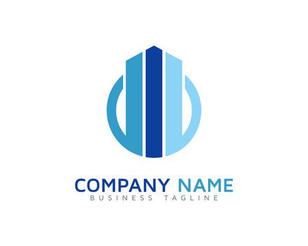 consult: Arrow Stats Logo Design Template Illustration