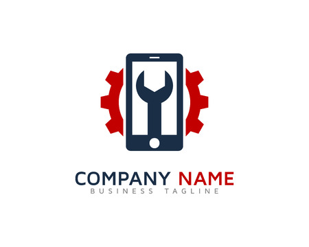 Mobile Repair Logo Design Template