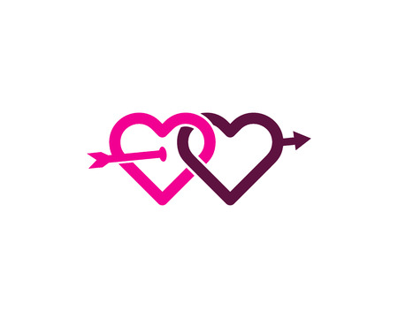 Relationship Logo Design Template