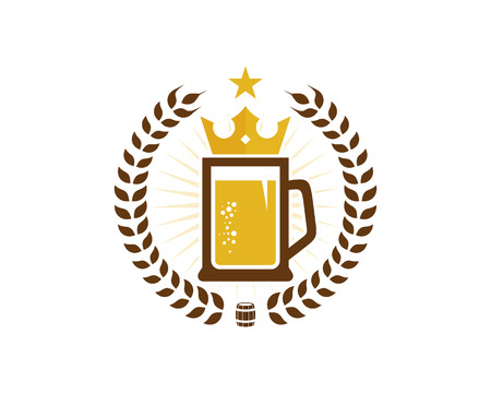 Beer Logo Icon Design