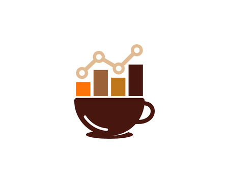 Data Coffee Logo Icon Design