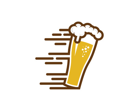 Fast Beer Icon Design