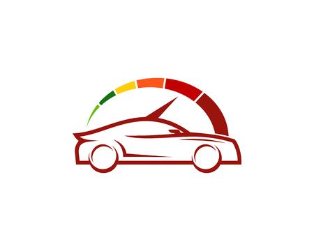 Car Speed Logo Icon Design