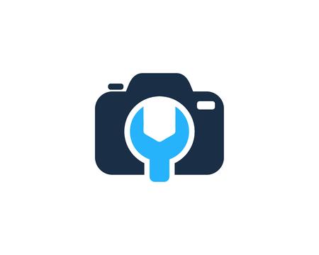 Fix Camera Logo Icon Design