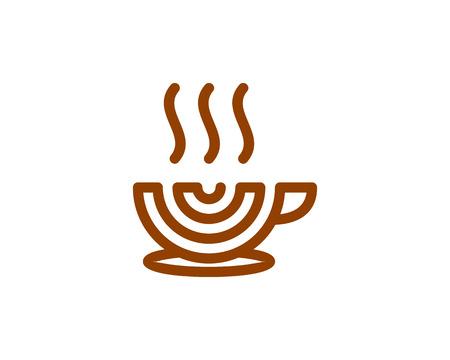 Coffee icon design.