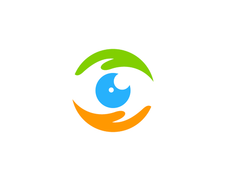 Vision Care Logo Icon Design