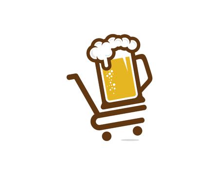 Beer Shop Logo Icon Design