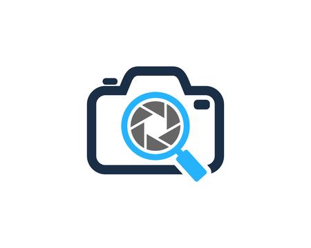 Find Camera Logo Icon Design