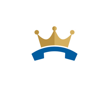 King Phone Logo Icon Design