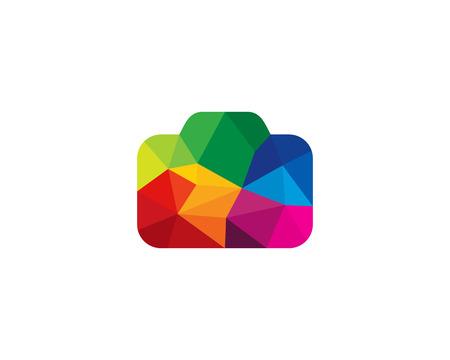 Colorful Camera Icon template Design vector illustration. Illustration