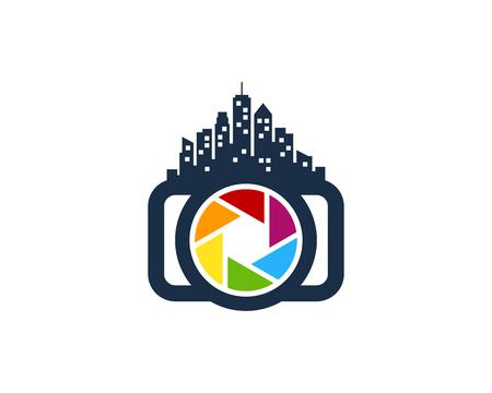 City Camera Icon template Design vector illustration.
