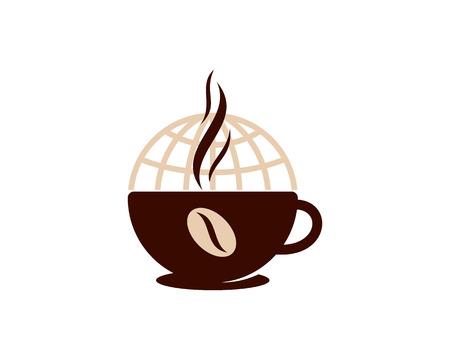 Coffee World Logo Icon Design