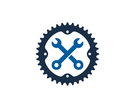 Fix Gear Logo Icon Design