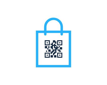 Barcode Shop  Icon Design Çizim