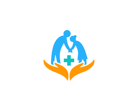 Medical Care Logo Icon Design