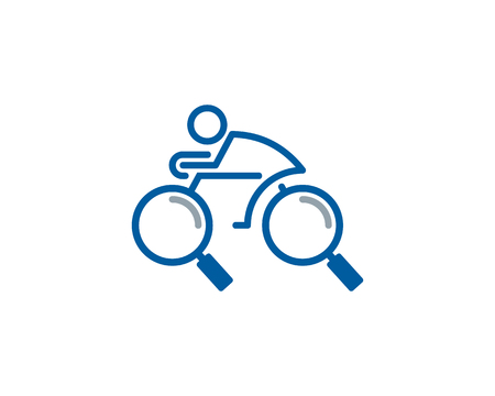 Find Bike Logo Icon Design